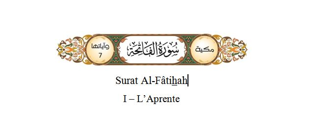 Surat alFatihah